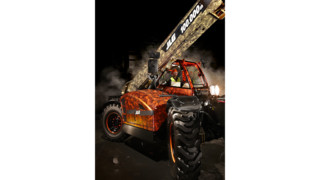 JLG Celebrates Production Of 100,000th Telehandler At Intermat Trade Show