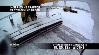Oshkosh Airport Products XT Tow Behind Broom