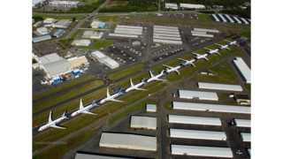 Supply Chain Problems Keep Boeing Parked On Paine Field Runway