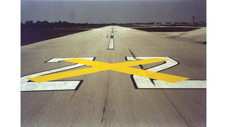 Reusable Temporary Runway and Taxiway X Markings