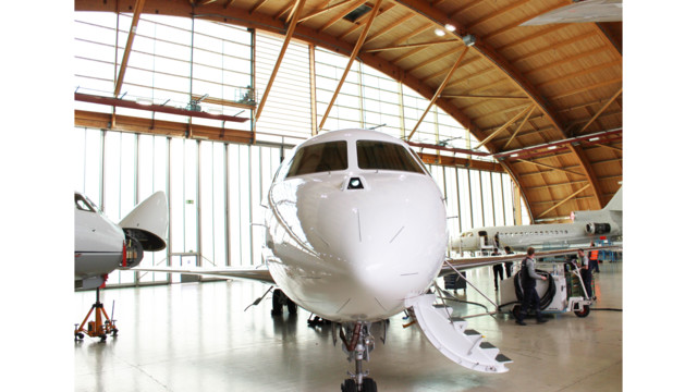 Jet Aviation Basel Completes Scheduled C-Check on a Dassault Falcon 7X Aircraft