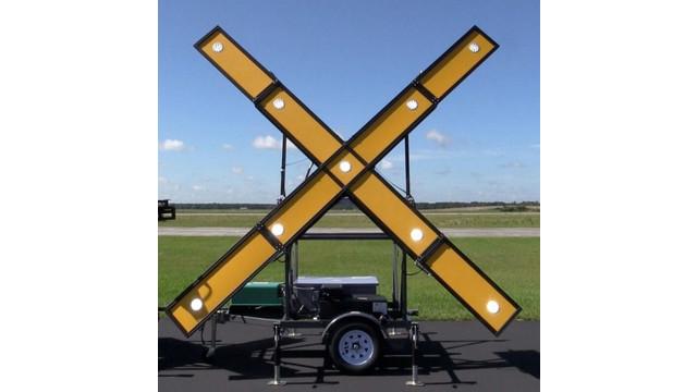 Led Runway Closure Marker Aviationpros Com