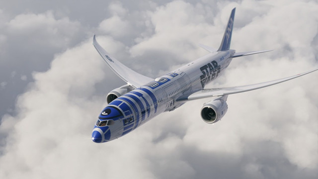 All Nippon Airways Pays Tribute To R2D2