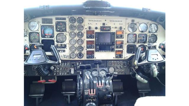Gulf Coast Avionics Completes Garmin G1000 Panel Upgrade on Colombian Army King Air B200