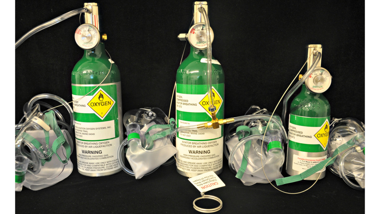 Aerox 174 Aviation Oxygen Systems To Provide Free Oxygen