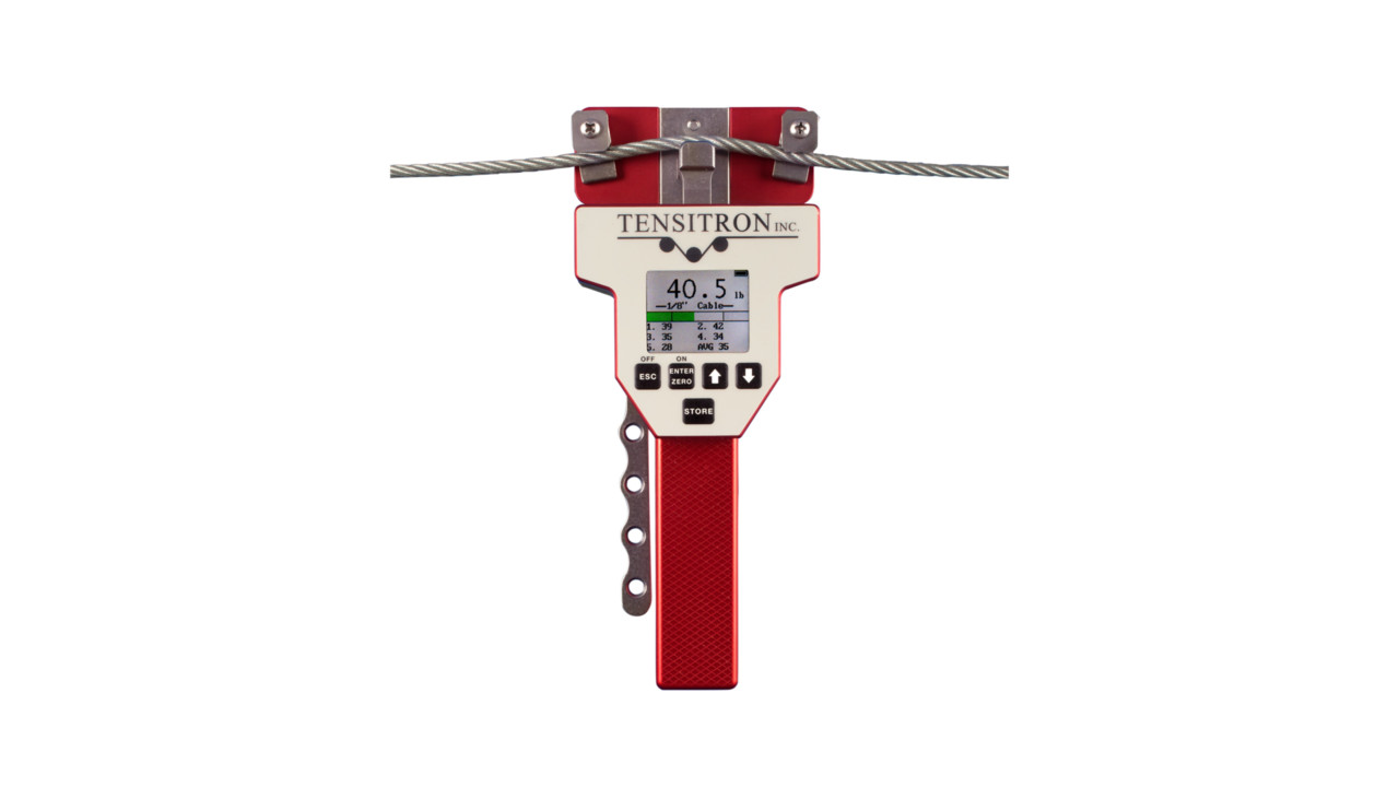 Aircraft Cable Accessories : Aircraft cable tension meter aviationpros