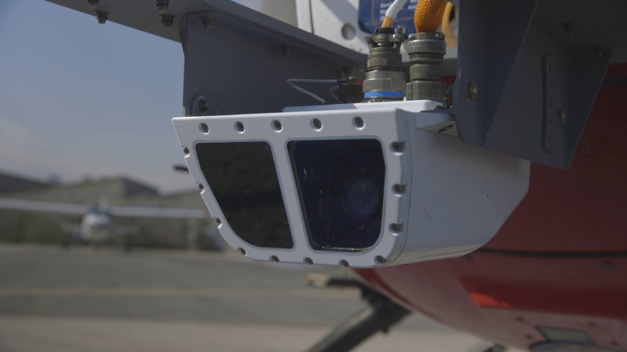 Elbit Systems Enhanced Flight Vision System For