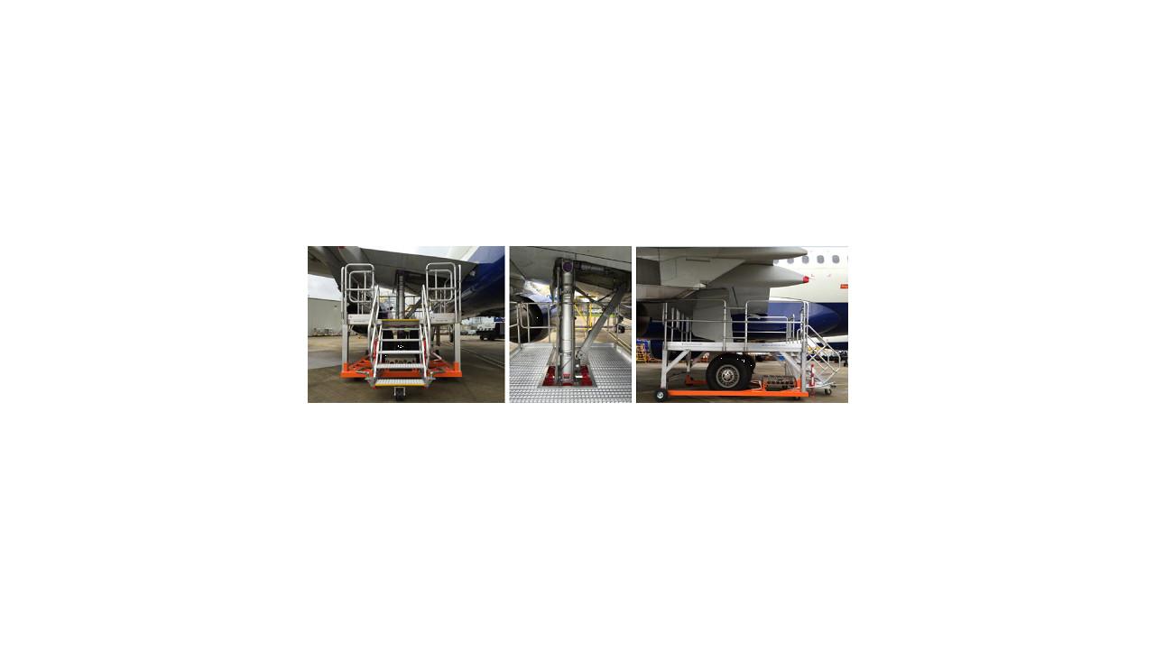 a320 main landing gear platform. Black Bedroom Furniture Sets. Home Design Ideas