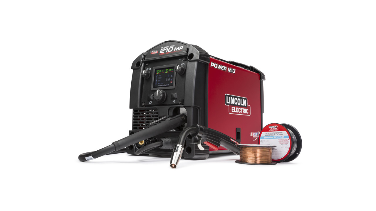 Lincoln Electric Turns Back the Clock with Offer on Power MIG® 210 MP