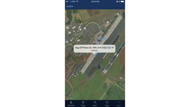 Delta app tracks luggage using RFID tech