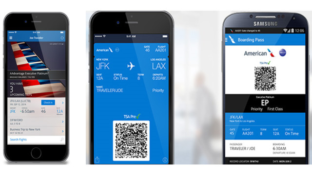 American Airlines Offers Mobile Boarding And Larger Planes