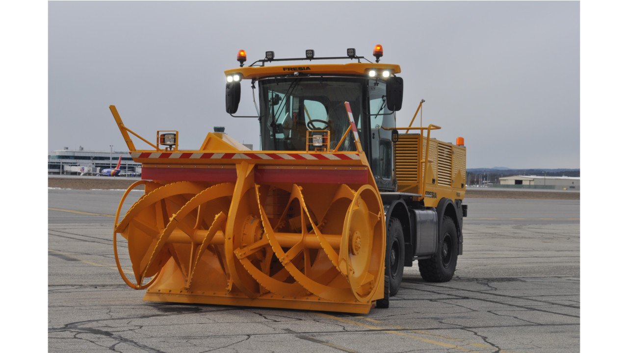 Fortbrand Chooses Volvo Penta to Power Airport Snow Removal Machines