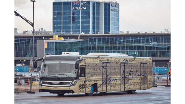 Hop on to Sauna, Sibelius or Formula 1 Bus at Helsinki Airport
