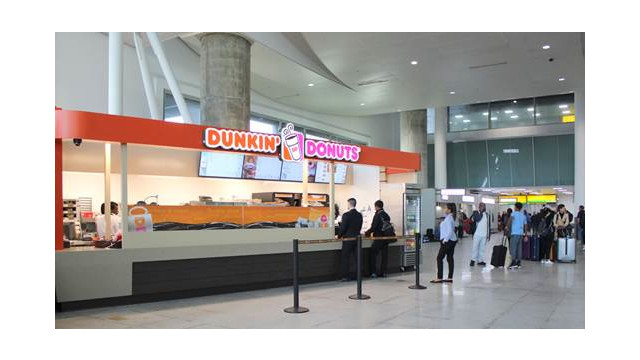 Jfk Airport S Terminal 4 Opens Full Service Dunkin Donuts