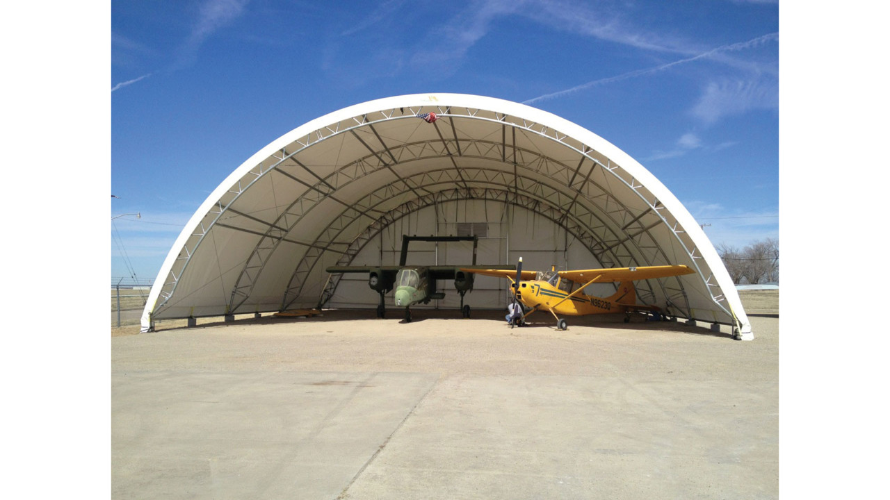 Fabric Structures Provide A Useful Option For Airplane Hangars