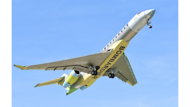 Global 7000 Program on Track as Third Aircraft Flies