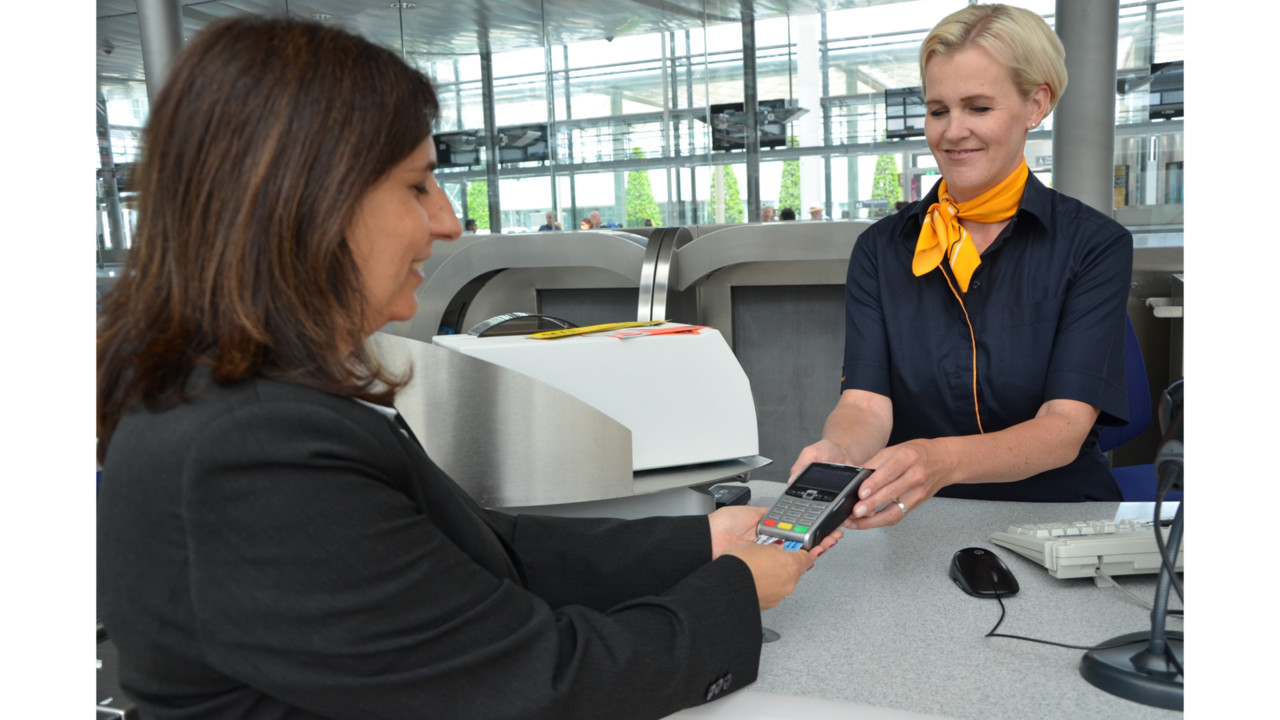 Lufthansa Group Brings Direct Payment Option to Check-In Counter And Gates With Card Terminals