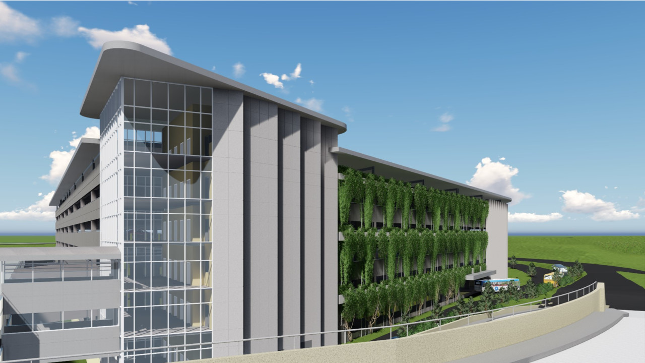 Je Dunn Construction Building Modern 6 Story Parking