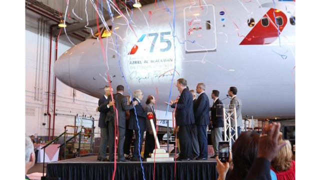 American Airlines plane named after employee with 75 years of service