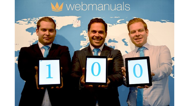 Image result for web manuals announces double-digit growth in six months