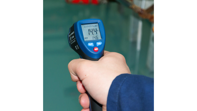 infrared thermometers are used to measuresurface Metris infrared thermometers are the most advanced infrared thermometers   accurately measure surface temperatures, find hot spots and trouble spots in   all thermometers use 2 aaa batteries that provide 18 hours of continual use and .