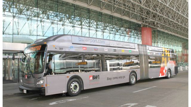 New Rental Car Shuttle Buses Debut At BWI Marshall Airport