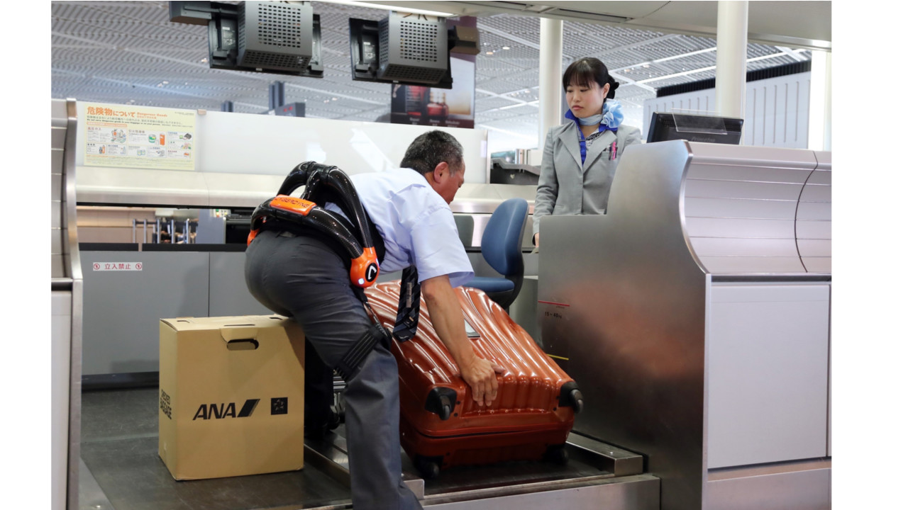 How Japan Is Using Technology To Support Baggage Handlers