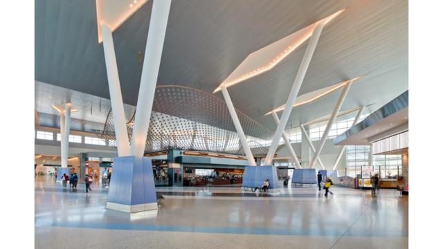 Terminal C North At George Bush Intercontinental Airport