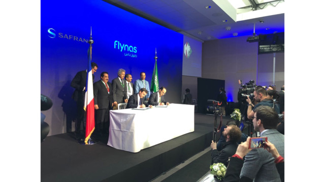 Αποτέλεσμα εικόνας για flynas signs agreement with CFM International for LEAP-1A engines