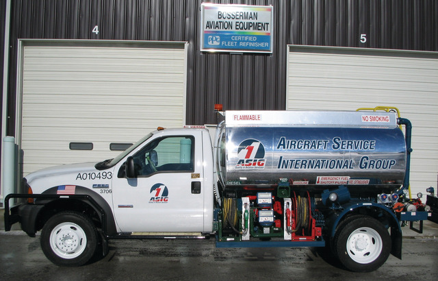 Bosserman Aviation Equipment Inc  Rampservicers in Fuel