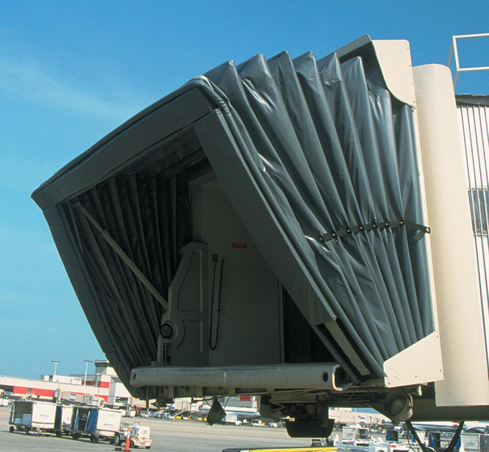 Estex Manufacturing Co. Inc. Loading Bridge Canopies In