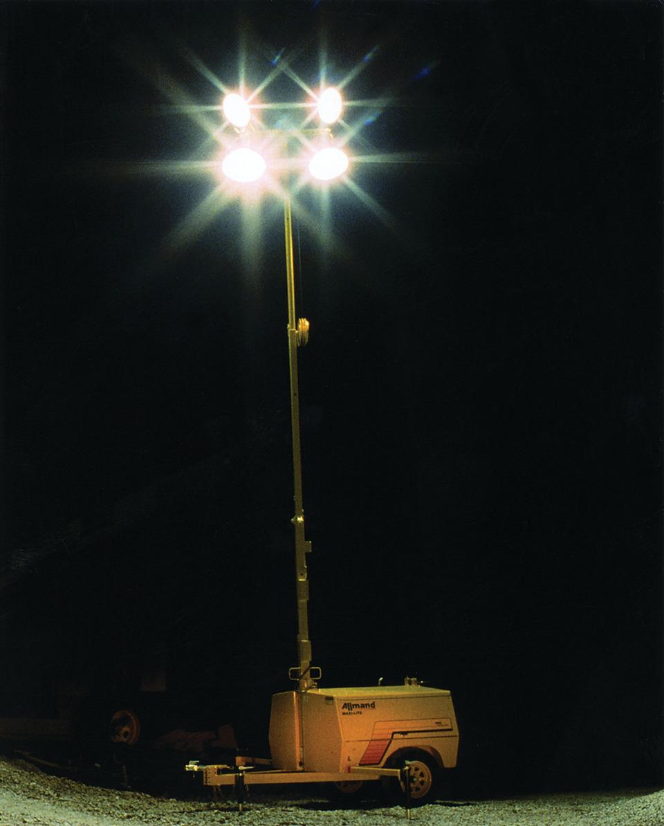 Allmand Bros. Inc. Maxi-Lite Portable Light Towers In