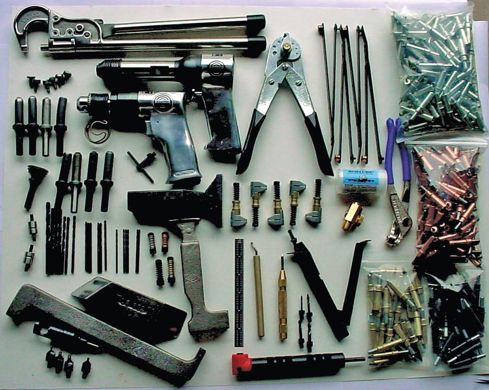 Brown Aviation Tool Supply Co. Master sheet metal tool kit ...