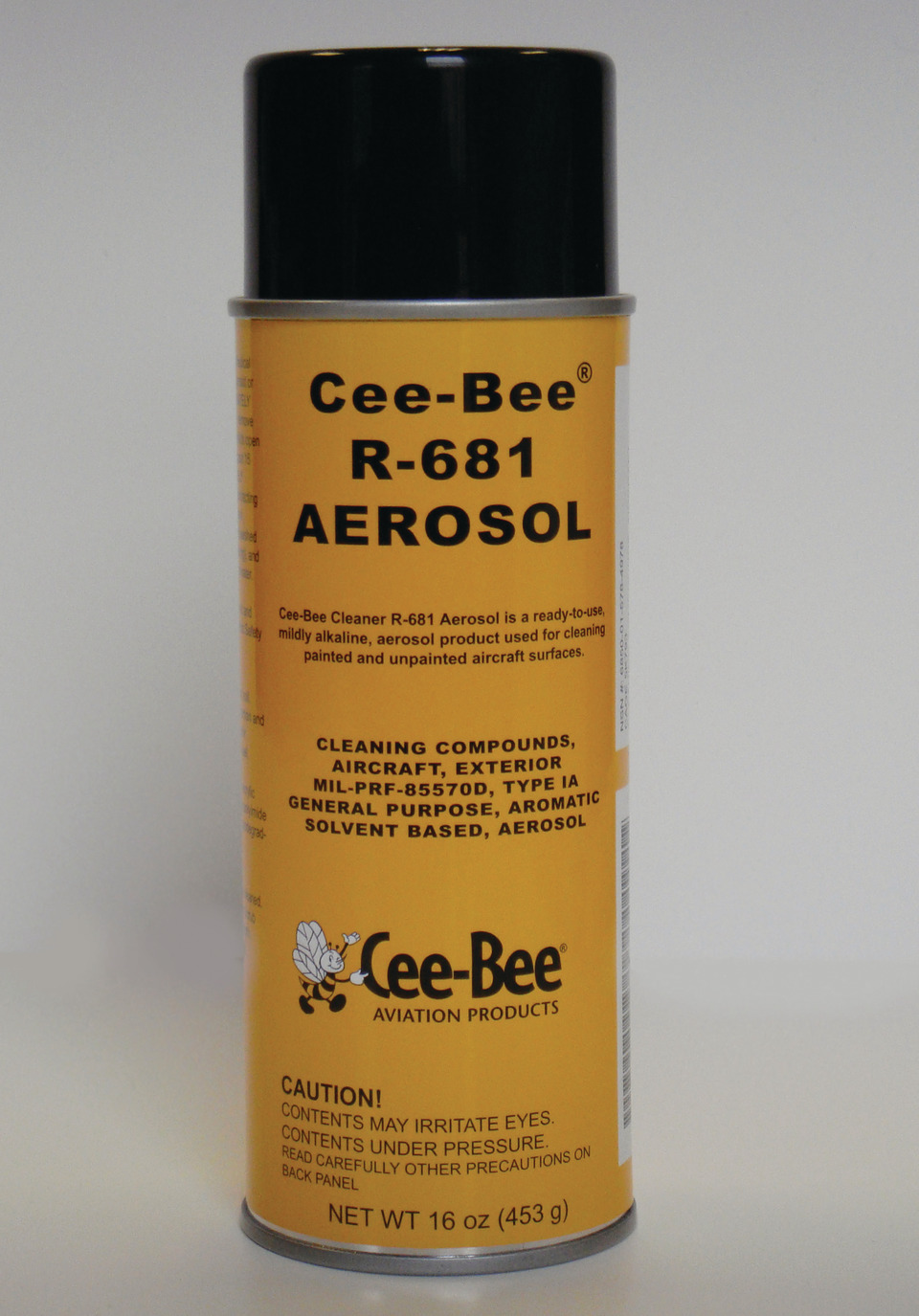 McGean, Cee-Bee Aviation Products Aerosol spot cleaner in..