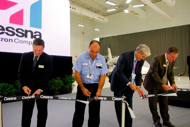 Cessna Opens State-of-the-Art Citation Service Center in Valencia, Spain