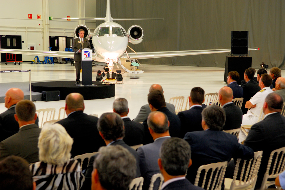 Cessna Opens State-of-the-Art Citation Service Center in