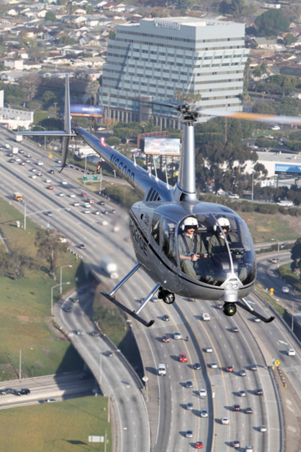 FAA Certifies Robinson R66 Police Helicopter