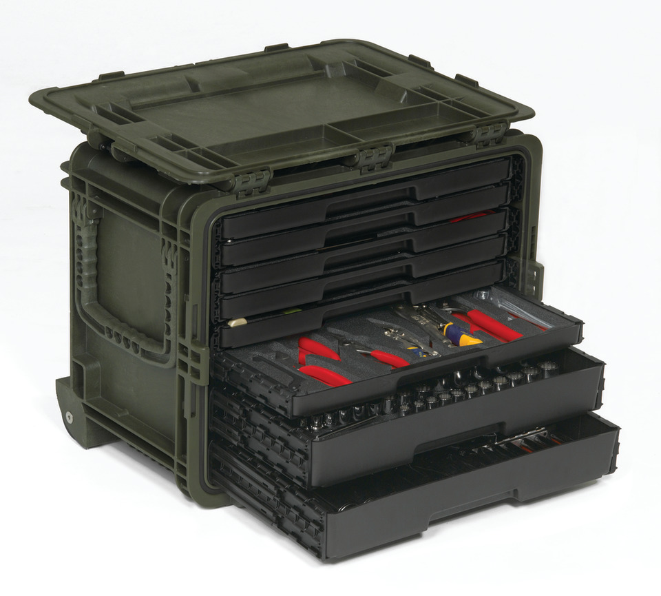 Snap On Industrial All Weather Mobile Tool Chest In Storage