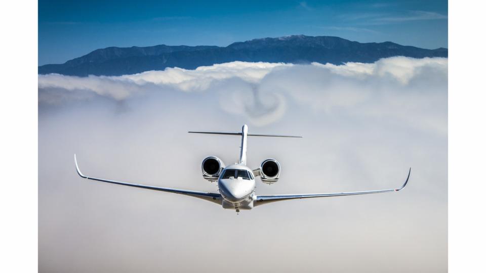 Cessna Citation X+ Sets Coast-to-coast Speed Record