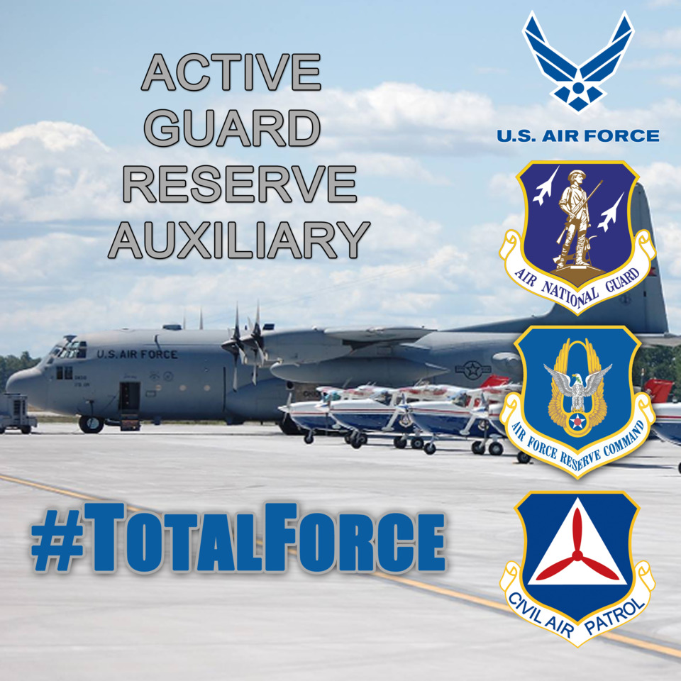 Image result for civil air patrol total force