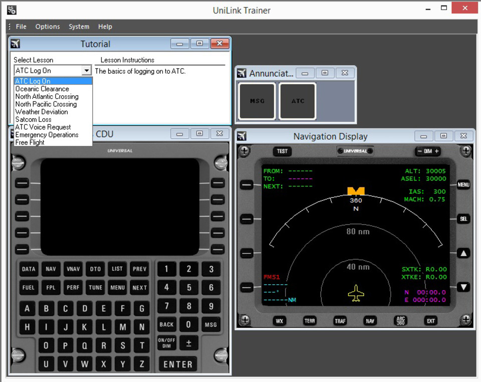 New Touch CDU iPad App for FMS Trainer Now Available