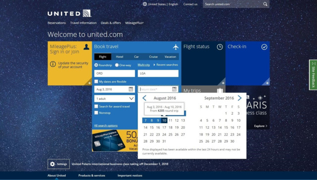 Amadeus Powers United Airlines Shopping App