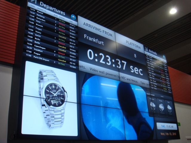 Make the Customer Experience Soar with Digital Signage