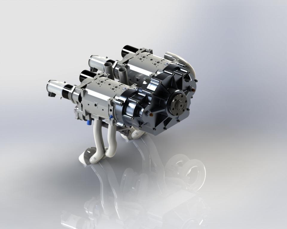 Geiger Motor GmbH Delivers New Wankel Aviation Engines