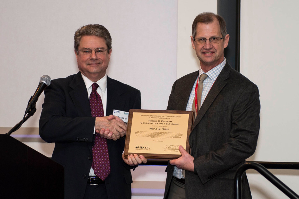 MDOT Names Airports, Consultant of the Year