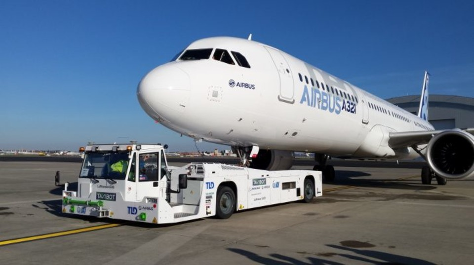 Taxibot Now Certified On Airbus A320 Family