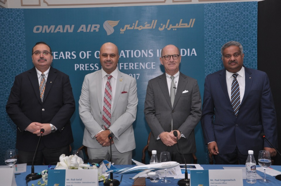Oman Air Completes 24 Years of Operations in India