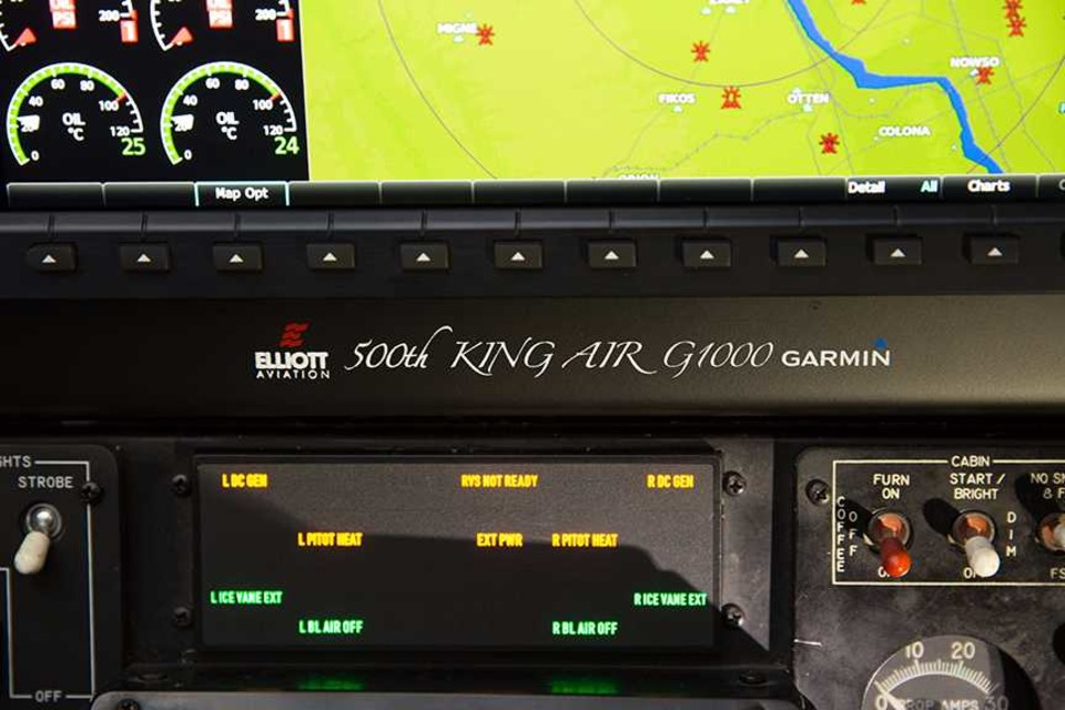 Elliott Aviation Delivers the 500th Garmin G1000 King Air Installation