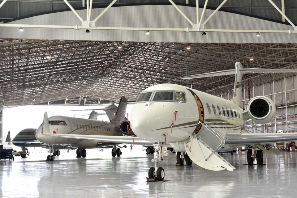 Jet Aviation's 3rd hangar at Seletar Aerospace Park in