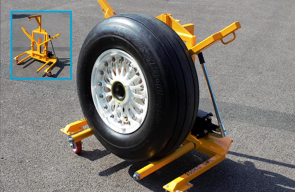 newbow aerospace  wheel dolly  shop equipment